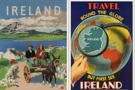 55x Vintage Travel Posters Ireland That You Want To Put On Your Wall    The Travel Tester