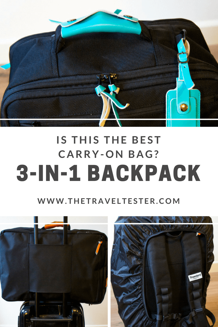 Is this travel backpack perhaps the best carry on luggage I've found? || The Travel Tester