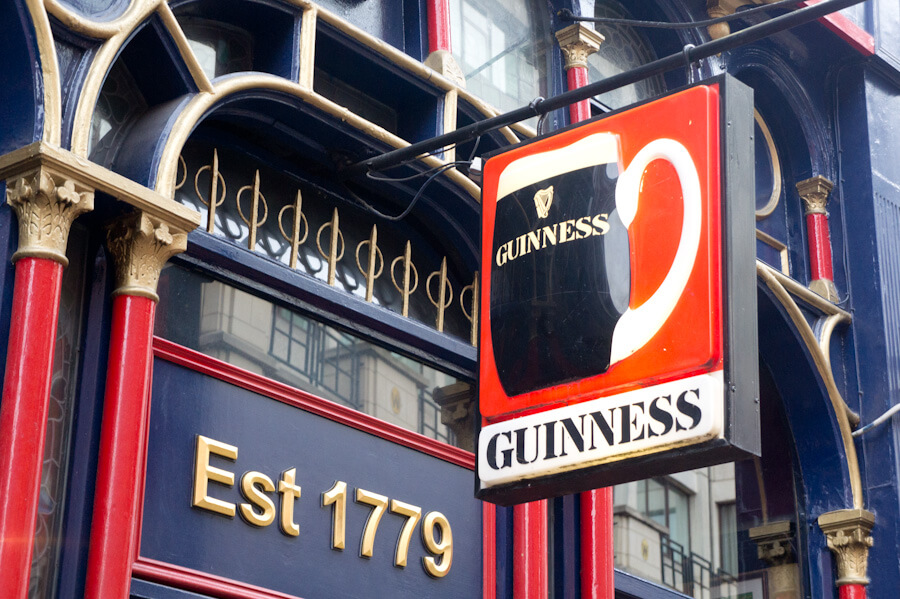 One day in Dublin? See the Highlights with these Tips! || City Guide by The Travel Tester || #CityGuide #Ireland #Dublin #VisitIreland #VisitDublin #24HGuide #CreativeQuarter #Shopping