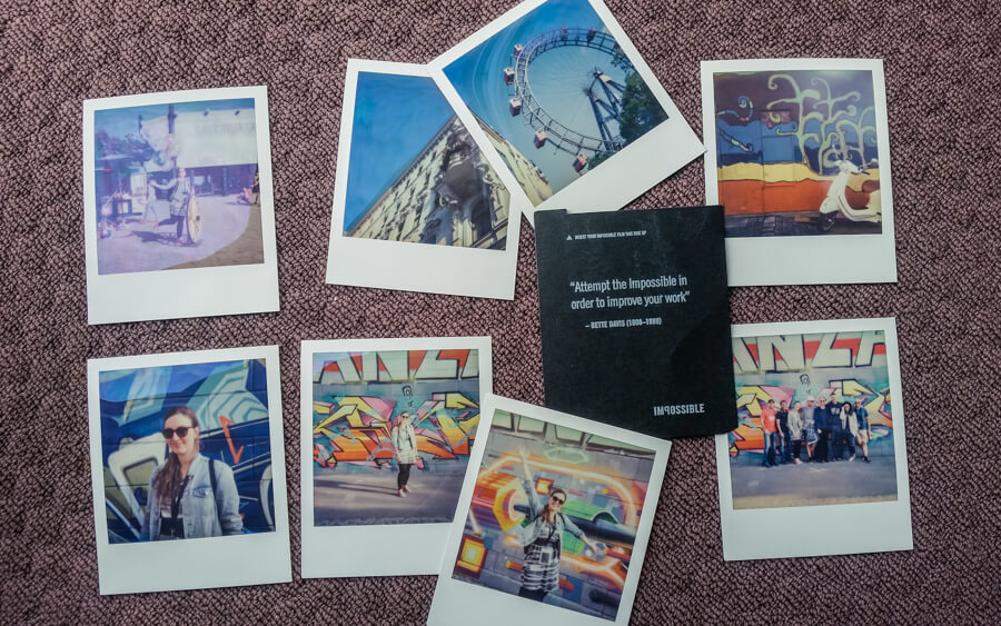 Creative Polaroid Walk with Polawalk in Vienna, Austria    Review by The Travel Tester