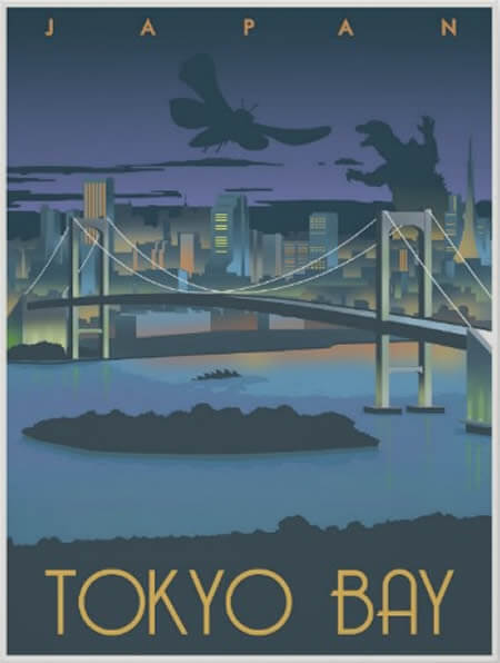 35x Vintage Travel Posters Japan | The Travel Tester