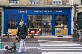 Artisan Sandwiches at Picto in Paris, France - The Travel Tester Blog