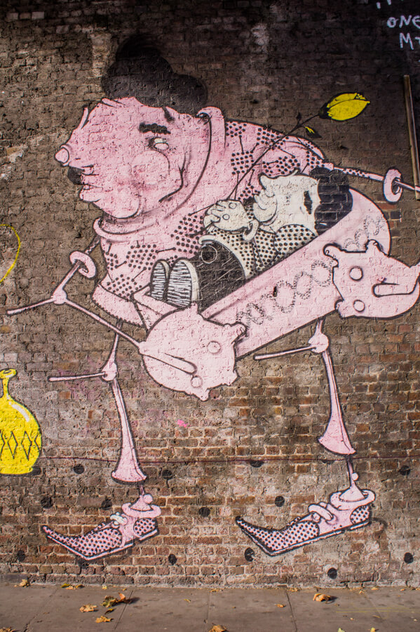 Camden Street Art London Urban Adventures Tour Review    The Travel Tester