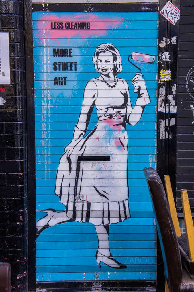 ZABOU - 10x street artists from London you don't want to miss || The Travel Tester