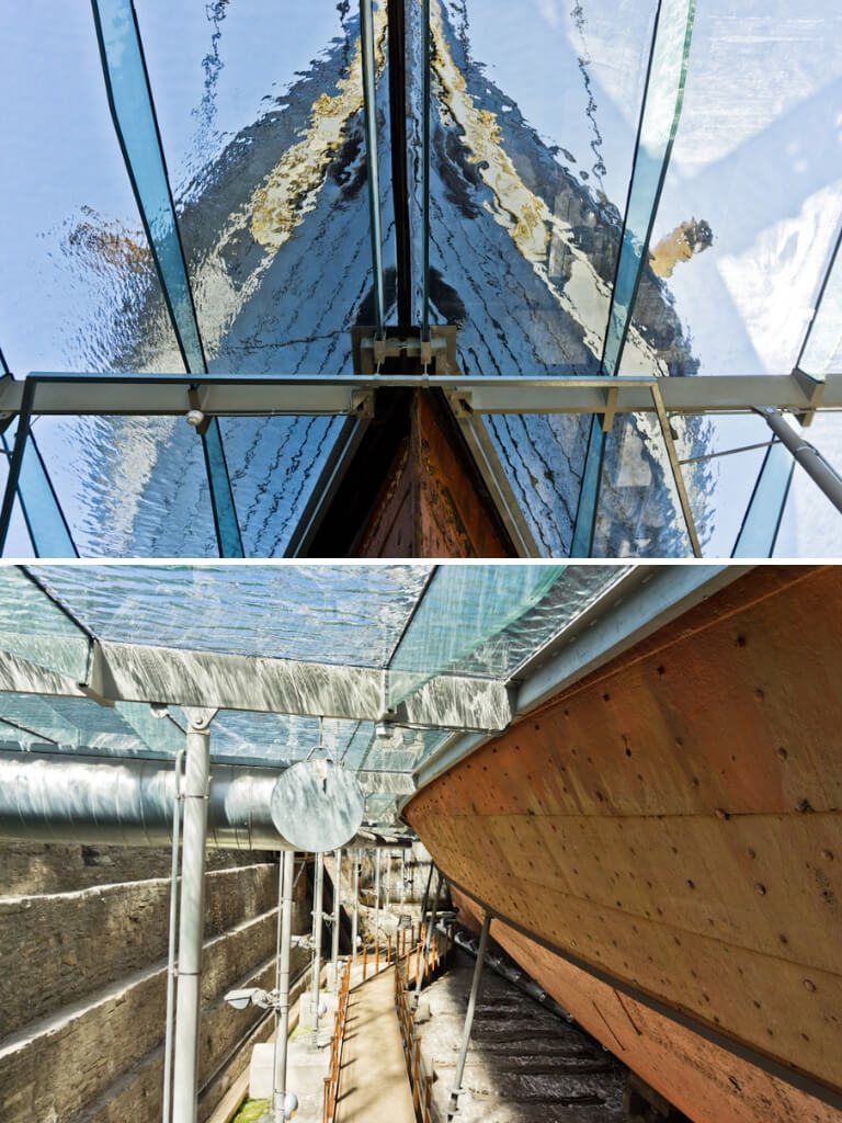 Was This The Best Ship in the World? Bristol SS Great Britain    The Travel Tester    #Bristol #SSGreatBritain #Britain #England #Maritime #Museum #SteamShip #Brunel