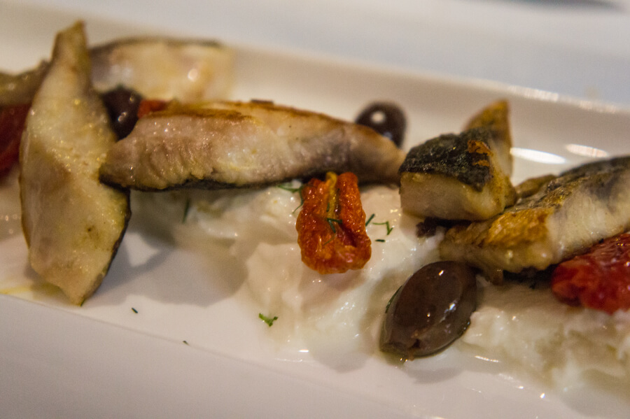0 KM Seafood at Restaurant Zero Miglia in Grado, Italy || Recommended by The Travel Tester